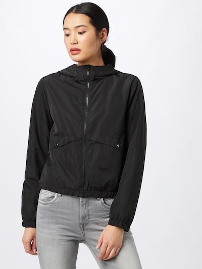 JACQUELINE de YONG Between-season jacket in Black: Frontal view