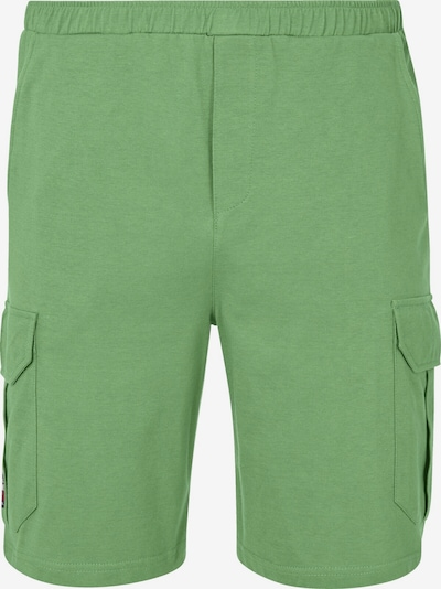 Jan Vanderstorm Pyjamahose 'Artturi' in grün, Produktansicht