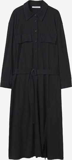 Rochie tip bluză 'sahara' MANGO pe negru, Vizualizare produs