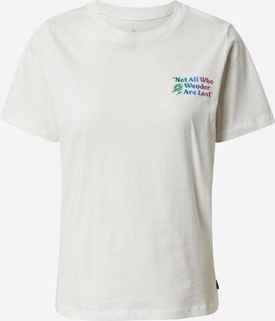 CONVERSE Shirt 'EXPLORATION TEAM' in de kleur Blauw / Jade groen / Lichtlila / Pitaja roze / Offwhite, Productweergave