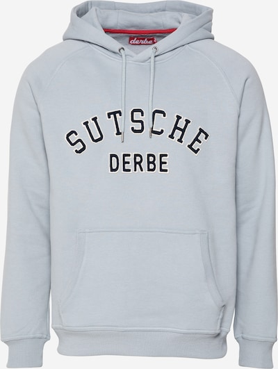 Derbe Sweater majica u mornarsko plava / svijetlosiva / bijela, Pregled proizvoda