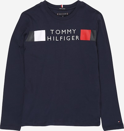 TOMMY HILFIGER Shirt 'GLOBAL' in navy / rot / weiß, Produktansicht
