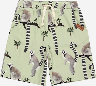 Walkiddy Trousers in grey / green / light green / black / white, Item view