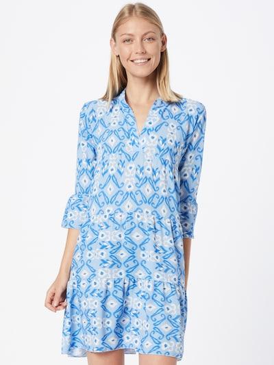 Hailys Kleid 'Lola' in royalblau / hellblau / weiß, Modelansicht