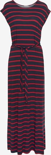 TAMARIS Kleid in marine / merlot, Produktansicht