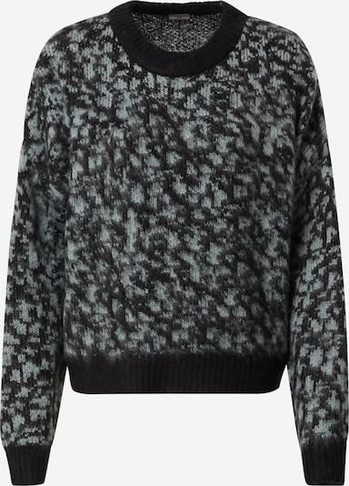JACQUELINE de YONG Пуловер 'Cameron' в сиво / черно, Преглед на продукта
