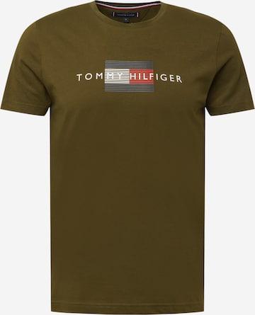 zaļš TOMMY HILFIGER T-Krekls