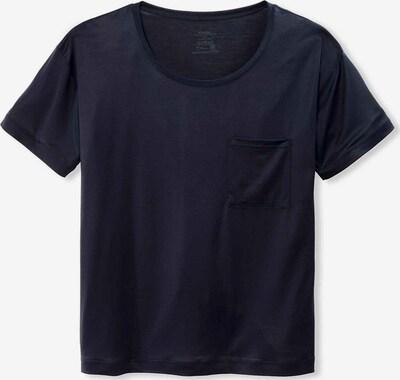 CALIDA Rundhals T-Shirt in blau, Produktansicht