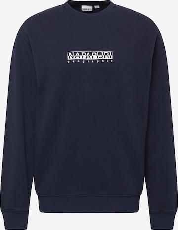 NAPAPIJRI Sweatshirt in Blau