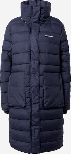 Didriksons Manteau outdoor 'HILDA' en bleu foncé / gris clair, Vue avec produit