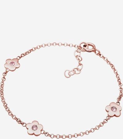 ELLI Armband Blume in rosegold, Produktansicht