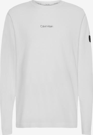 Calvin Klein Shirt in de kleur Zwart / Wit, Productweergave