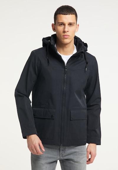 TUFFSKULL Jacke in schwarz: Frontalansicht