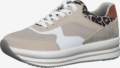 s.Oliver Sneaker in beige / mischfarben, Produktansicht