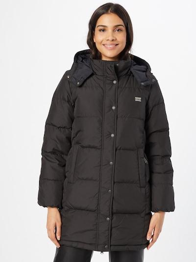LEVI'S Manteau d'hiver 'Quinn' en gris fumé / noir, Vue avec modèle