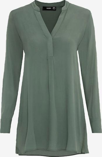 HALLHUBER Bluse in dunkelgrün, Produktansicht