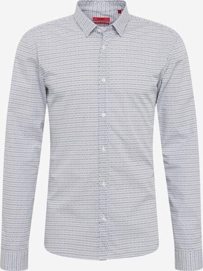 HUGO Shirt 'Ero3' in black / white, Item view