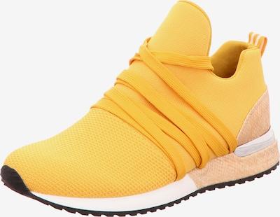 Edel Fashion Sneaker in hellbeige / gelb, Produktansicht