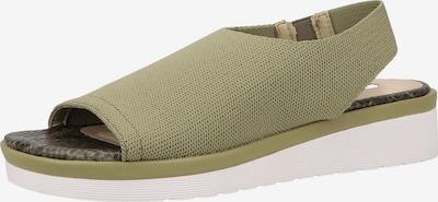 LA STRADA Sandale in oliv, Produktansicht