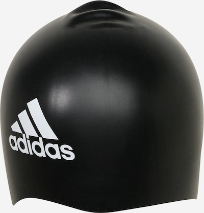 ADIDAS PERFORMANCE Badekappe in schwarz / weiß, Produktansicht