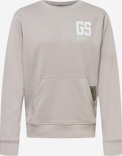 G-Star RAW Sweatshirt in grau / weiß, Produktansicht