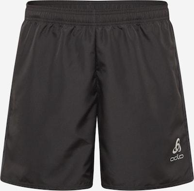 ODLO Spodnie sportowe 'Essential' w kolorze jasnoszary / czarnym, Podgląd produktu