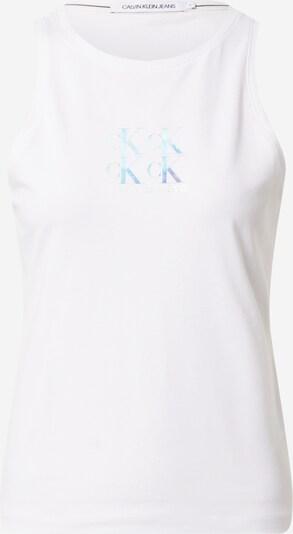 türkiz / világoskék / fehér Calvin Klein Jeans Top, Termék nézet