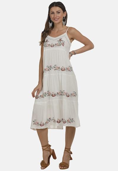 usha FESTIVAL Kleid in mischfarben / weiß, Modelansicht