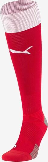 PUMA Kousen in de kleur Grijs / Rood / Wit, Productweergave