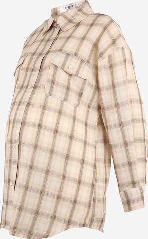 Camicia da donna di Missguided Maternity in beige