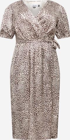Chi Chi Curve Φόρεμα 'EMILY' σε καφέ