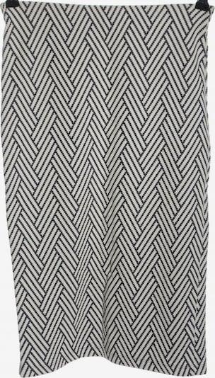 ZARA Midirock in S in schwarz / weiß, Produktansicht