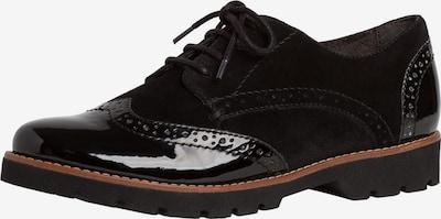 JANA Veterschoen in de kleur Zwart, Productweergave
