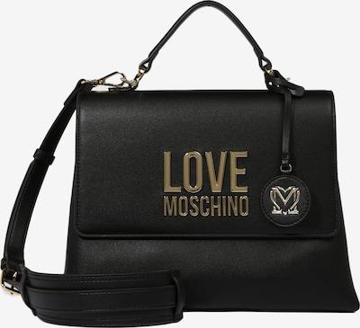 Love Moschino Handtasche in gold / schwarz, Produktansicht