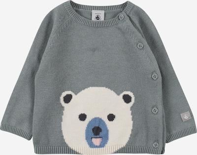 PETIT BATEAU Sweater in Cream / Dusty blue / Dark grey / Light pink / Black, Item view
