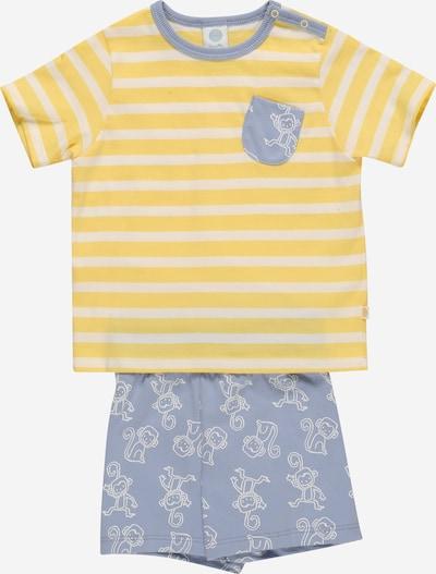 SANETTA Pyjama en bleu clair / jaune, Vue avec produit
