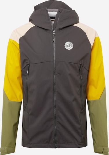 Maloja Outdoorová bunda 'Ischi' - béžová / žltá / kaki / čierna, Produkt