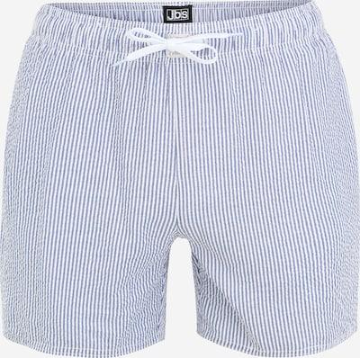 JBS OF DENMARK Shorts de bain en bleu fumé / blanc, Vue avec produit