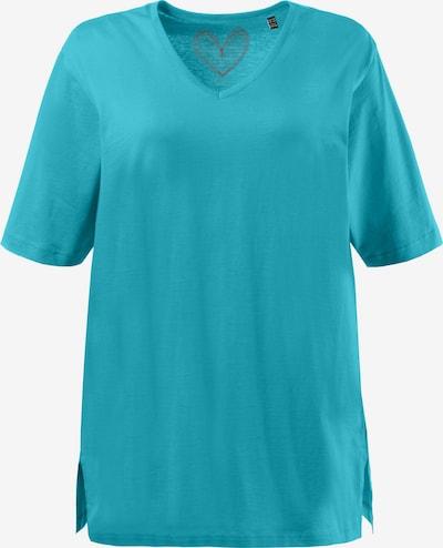 Ulla Popken Shirt in de kleur Blauw, Productweergave