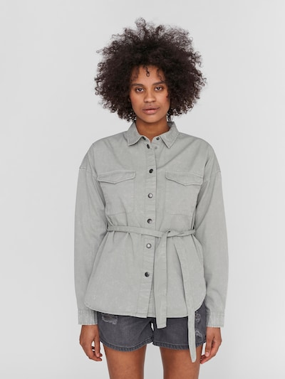 Noisy may Blouse 'Sandra' in Light grey, View model