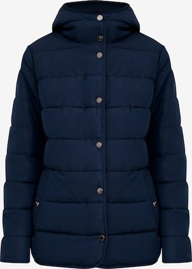 Finn Flare Tussenjas in de kleur Donkerblauw, Productweergave