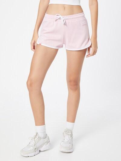 ELLESSE Панталон в светлорозово / бяло: Изглед отпред
