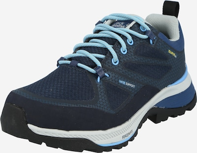 JACK WOLFSKIN Wanderschuh 'FORCE STRIKER TEXAPORE LOW W' in blau, Produktansicht