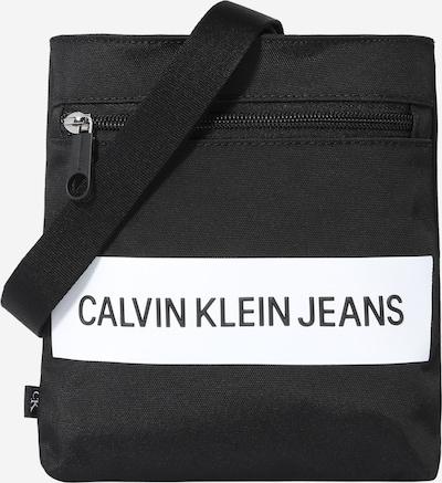 Calvin Klein Jeans Schoudertas in de kleur Zwart / Wit, Productweergave