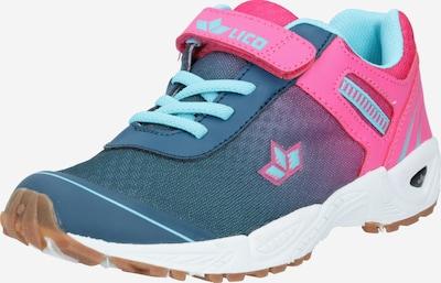 LICO Sneaker 'Barney VS' in blau / rosa, Produktansicht