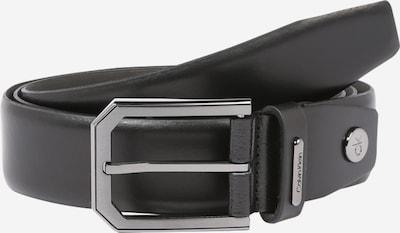 Calvin Klein Ceinture en noir: Vue de face