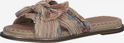 TAMARIS Pantolette in beige / mischfarben, Produktansicht