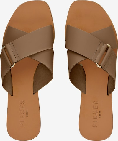 PIECES Mules in Brown, Item view