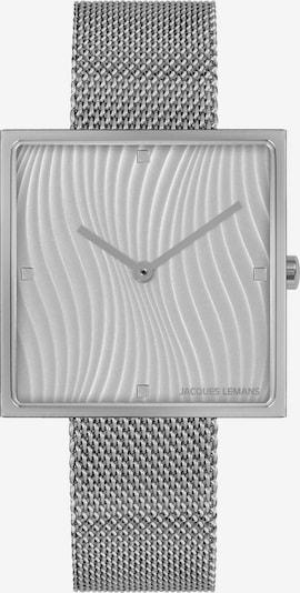 Jacques Lemans Uhr in silbergrau, Produktansicht