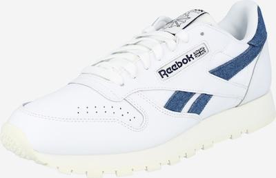 REEBOK Baskets basses 'CL LTHR' en blanc, Vue avec produit